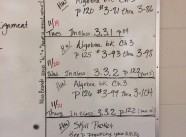 CPM Algebra Homework Nov. 18 ~ Nov. 22